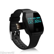 OLED Bluetooth Smart Watch Orologio IP67 Per IOS Android Samsung HTC Telefono