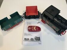 Lgb Train 90202 Battery Operated Starter Set with 2 Cars - Nice