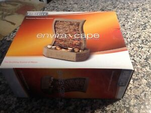 2010 Envira Scape indoor relaxation fountain;never removed from box,flap sealed