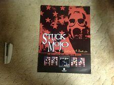 Rare! Cd lp Promo Poster 24x18apx Stuck Mojo century media records vintage