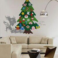 2X(Kreative Filz Weihnachten Baum für Kinder 3.2Ft Diy Weihnachtsbaum mit KN1B5)