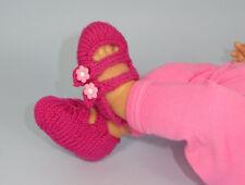 Stampato instructions-baby 2 Cinturino Sandali knitting pattern