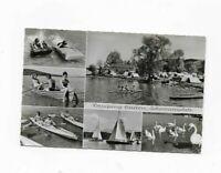 1667- Camping Gaden Waging am See Schwanenplatz 1964gl.