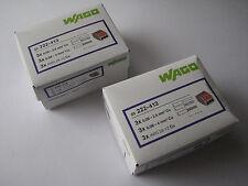 100x Wago Klemmen bis  3x4 mm  ( 0,08-4mm )  222-413 NEU