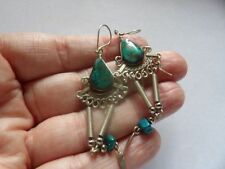 Unbranded Turquoise Natural Stone Costume Earrings