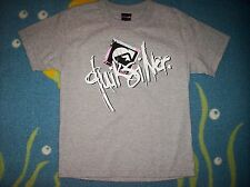 Quiksilver Shirt T Boys Tee Graphic Size Small Gray Crew Neck Nwt