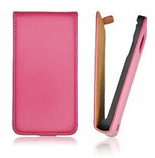 Etui Eco-Cuir Violet Case Coque Cover Leather Rozawa Pink for LG (P700) L7