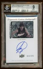 BGS 9 *10* RICKY RUBIO EXQUISITE RC AUTO #013/225 TIMBERWOLES SUPERSTAR PG  HOT