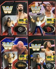 WWE ALL 4 COMPLETE BUNDLE MATTEL RETRO SERIES 3 MATTEL WRESTLING ACTION FIGURE