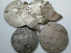 Islamic 11 century medieval silver dirhems lot