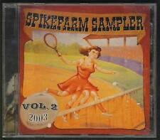 SPIKEFARM SAMPLER V2 2003 CD GOTHIC FINLAND Silentium Entwine Thyrane