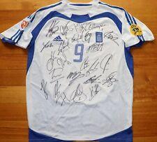 Greece Euro 2004 Final Charisteas Signed Football Jersey – 100% authentic COA
