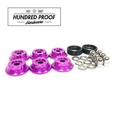 HUNDRED PROOF HARDWARE K Series Valve Cover Hardware K20 K20a K24 K24a2 [Purple]