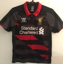 LIVERPOOL FOOTBALL SOCCER THIRD AWAY SHIRT SIZE YOUTH SMALL 122CM 2014/2015