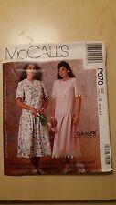 VINTAGE MCCALLS LADIES DRESS PATTERN P970 SIZE 8-12  FREE SHIPPING