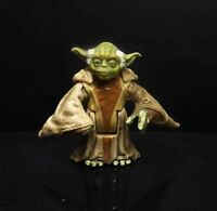 "Star Wars Clone Wars Yoda Jedi Master ACTION FIGURE 2.5"" #y7"