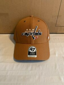 Washington Capitals NHL '47 Carhartt Mens Brown MVP Adjustable Hat Cap New