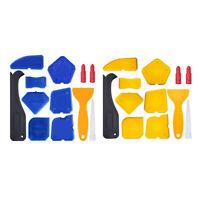 Set of 12, Caulking Tool Kit Silicone Sealant Finishing Tool Grout Scraper Caulk