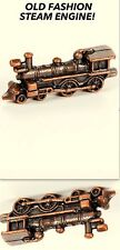 METAL OLD FASHION STEAM ENGINE DOLLS MINIATURE (1 1/2 X 5/8 X 3/8)  1:12 SCALE !