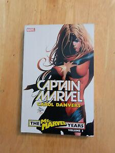 CAPTAIN MARVEL CAROL DANVERS MS MARVEL YEARS VOL 3~ MARVEL DELUXE TPB **