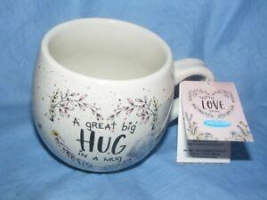 Hug In A  Mug Me To You Tatty Teddy Bear Gift Present AGM01049 NEW BOXED BFF