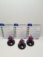 HeroClix Superman Robot Superman 100 lot of 3