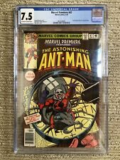 Marvel Premiere #47 Bronze Age Comic CGC 7.5 OWTW Pages First Scott Lang Ant-Man
