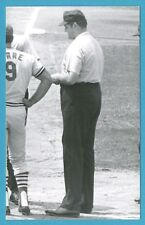 Lee Weyer Vintage Baseball Umpire Postcard GRN