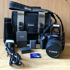Canon EOS 350D Digi SLR Black, Canon EF-S 18-55mm, Camera Bag & Memory Card