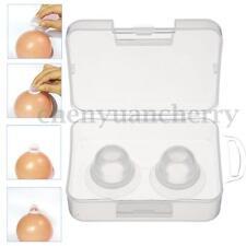 1 Pair Silicone Breast Enhancer Sucker Vacuum Nipples Corrector Forms Wear