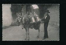 Spain GRENADA Animal DONKEY water carrier Grenada Aguador c1940/50s? RP PPC