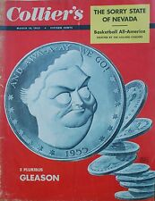 Mar 18 1955 Colliers Sorry State Nevada Jackie Gleason Helicopters Bible World