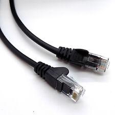 RJ45 Ethernet Network LAN Cable Cat 5e Lead PURE COPPER UTP Patch 0.25m  20m Lot