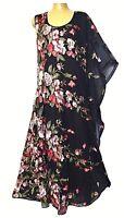 plus sz XS / 14 TS TAKING SHAPE EVENT-WEAR My Secret Garden Dress NWT rrp$280!