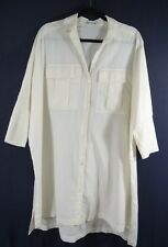 NEW Standard James Perse Cotton Batwing Tunic in Cream - Size 1 US XS