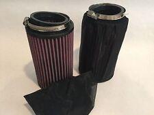 "Yamaha Banshee K&N Air Filter Filters 6"" Pre Outerwears 33 34 35 PWK PJ Carbs"