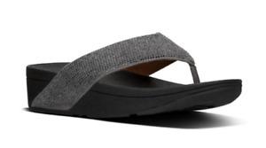Fitflop Ritzy Pewter Flip Flop Sandal Women's sizes US 5-11/NEW!!!