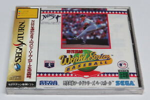 Hideo Nomo World Series Baseball Sega Saturn Japan Japanese * Brand NEW Sealed