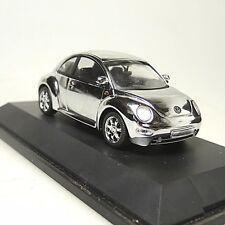 VW Volkswagen Käfer New Beetle Chrom 1997 Schuco  04539 1/43 sehr guter Zustand