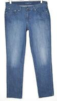 Levis Slim Leg SLIGHT CURVE Mid Rise Blue Stretch Jeans Size 12 14 W31 L32