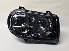 Smoke Projector Dual Halo Angel Eye Headlights PAIR Fits Chrysler 300C 05-10