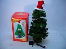 1998 Gemmy Douglas Fir Talking Christmas Tree Animated Works