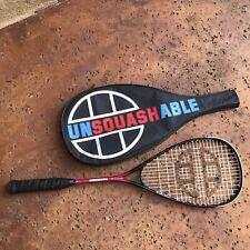 Vintage Unsquashable XT420 Lite Squash Racquet High Modulus Graphite W/Cover