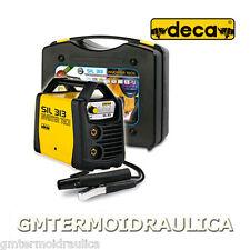 Saldatrice Inverter ad elettrodo DECA SIL 313 Generatore 130 Amp Valigetta