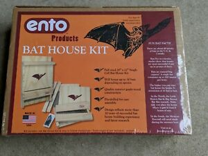 """Bat House Kit for Outdoors Large 18"""" x12"""" Single Cell Bat House Kit Made in USA"""