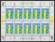 Moldova mint sheet - Europa CEPT  2000  MNH