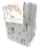 Himatsingka America in The Woods Extra Soft Flannel Twin Sheet Set(missing item)