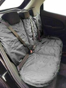 HeavyDuty Waterproof Car Rear Back Seat Cover Pet Dog Protector - Universal Grey