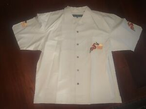 NWT Vintage 90's Johnny Blaze Year Of The Dragon Multicolor Shirt Sz. L RARE
