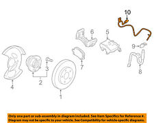 GM OEM ABS Anti-lock Brakes-Front Speed Sensor 20811372